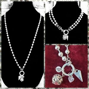 Plunder Design Londyn Ball & Chain Necklace